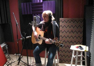 Singer-Songwriter-Laying-Down-Tracks